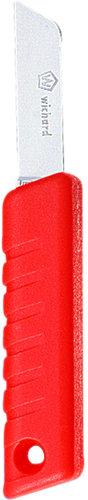 Sikkerhedskniv med fast blad (flydende)