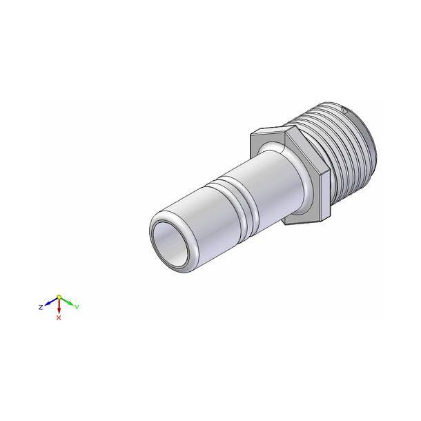 "Adapter 1/2"" 15mm slangstuds"