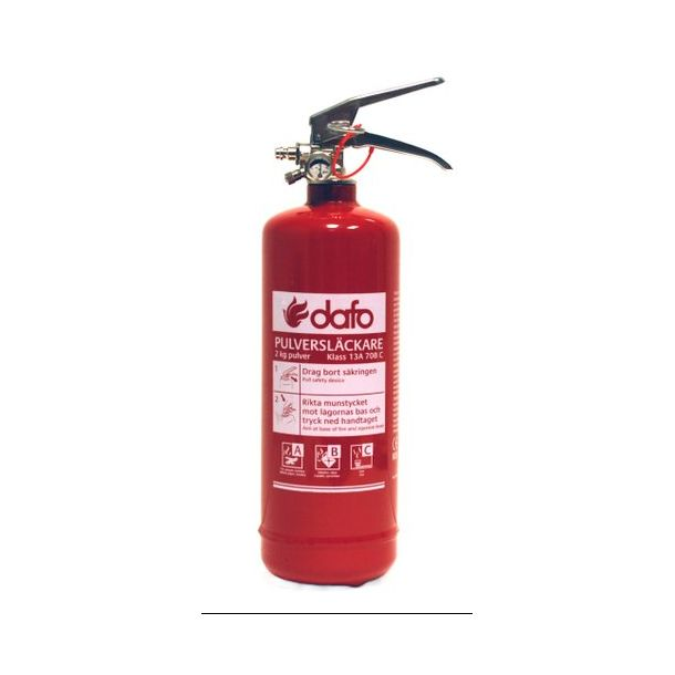 Brandslukker Pulver 2 kg